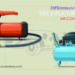 Differences Between Tire Inflators and Air Compressors