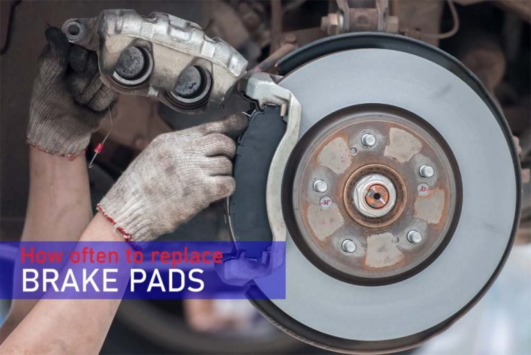 How often to replace brake pads